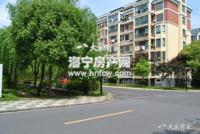 该小区为海宁市经济适用房的标杆性建筑
