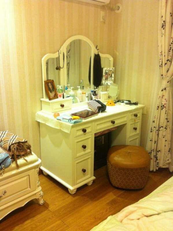 幼儿园区域理发店镜子图片